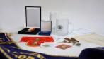 Ukázka vyhotovení upomínkových předmětů pro hasiče