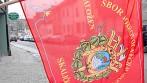 Tištěná venkovní hasičská vlajka, SDH Skalička