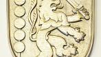 Ukázka ručně vyřezávaného znaku, církve