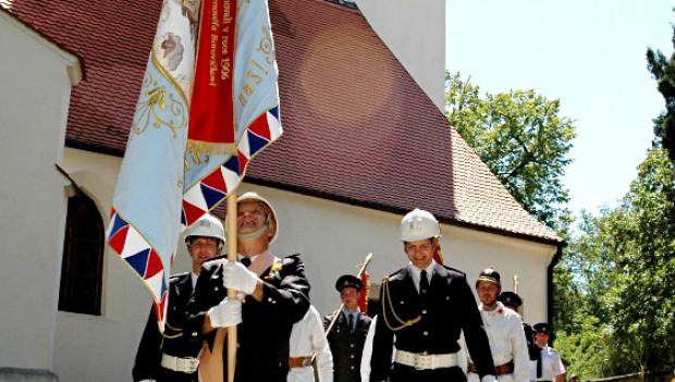 Příslušenství k vyšívaným vlajkám a praporům